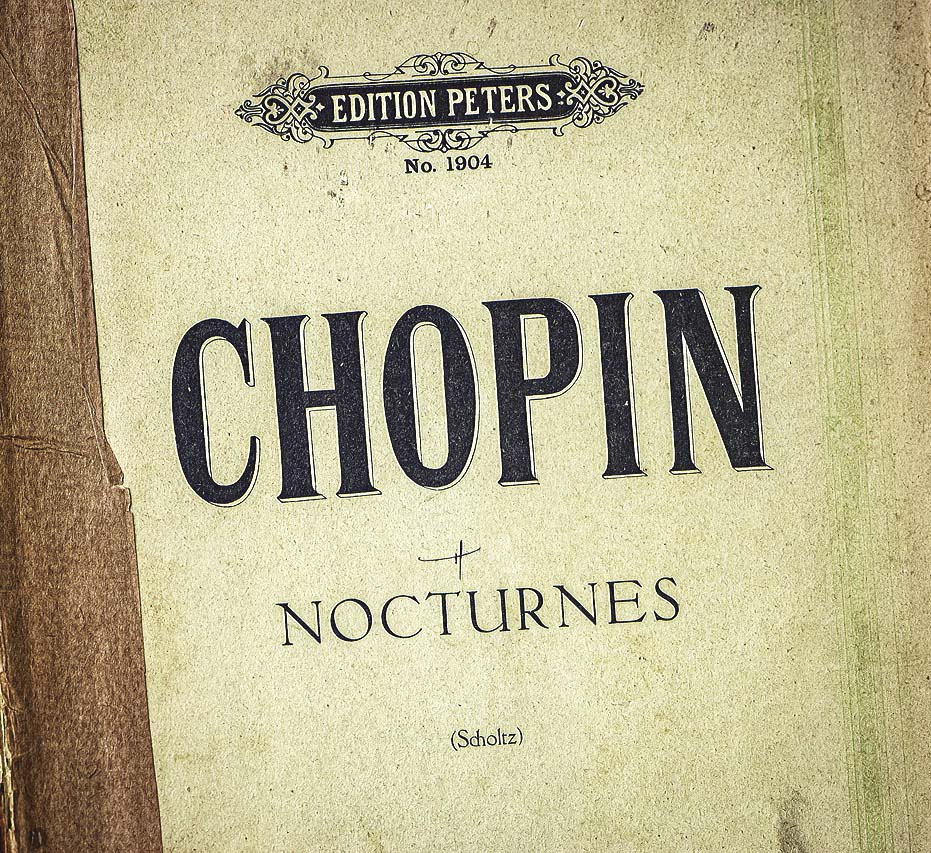 Photo manuscrit Chopin Nocturnes