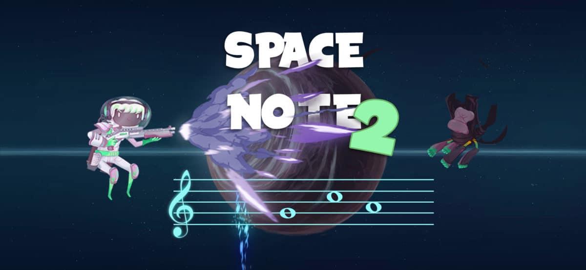 Space Note 2 un jeu pour apprendre le solfège