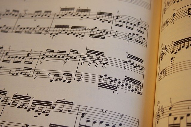 Partition de piano pour débutant