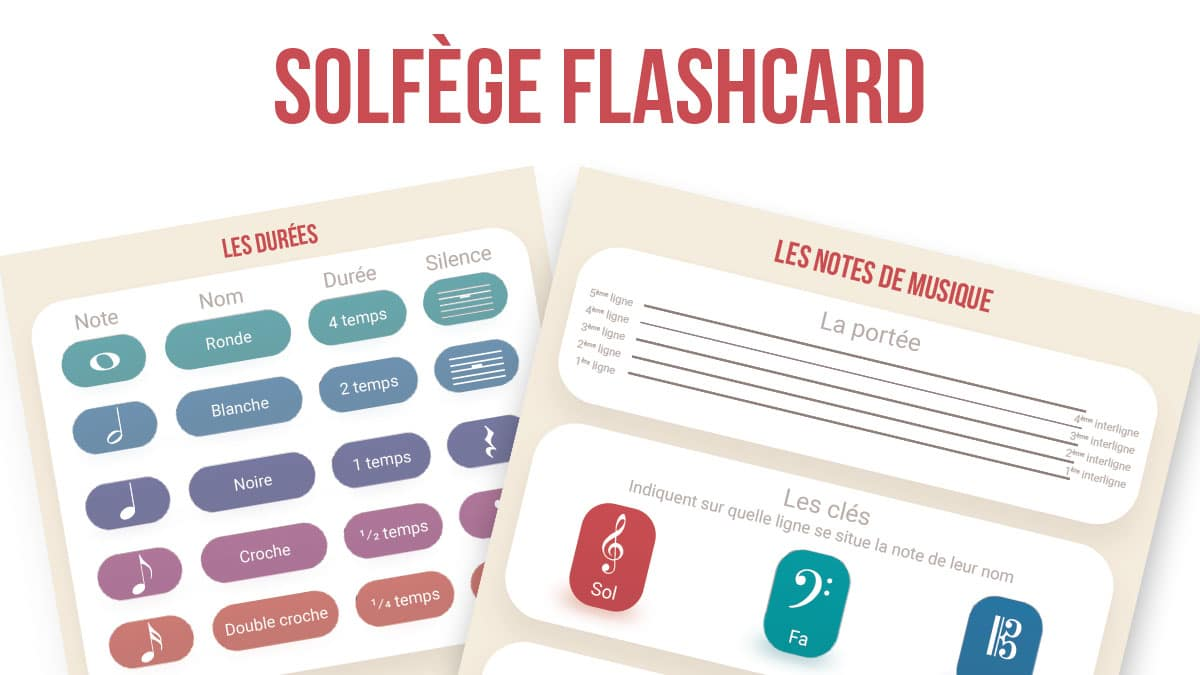 Solfège Flashcard header
