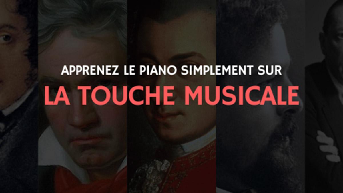apprendre le piano seul La Touche Musicale